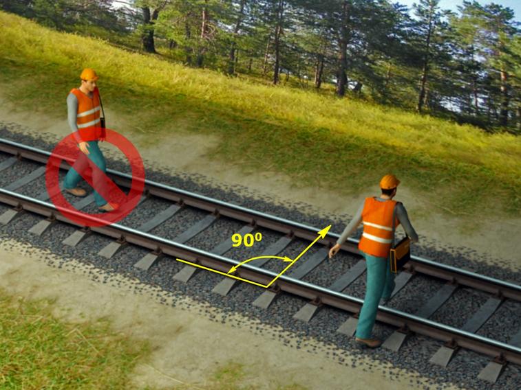 Инструкция по переходу ж д путей