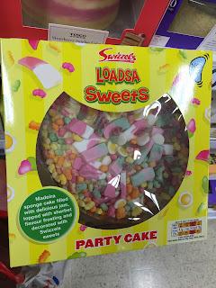 Swizzels Loadsa Sweets Party Cake