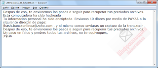 BancoCrypt HT Ransomware