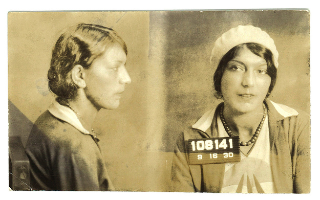 Vintage Everyday Vintage Bad Girl Mugshots