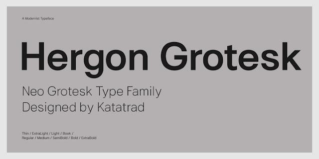 Hergon Grotesk Font Family Download Font Free