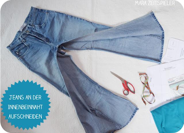 upcycling tutorial babyhosen aus alten jeans n hen mara. Black Bedroom Furniture Sets. Home Design Ideas