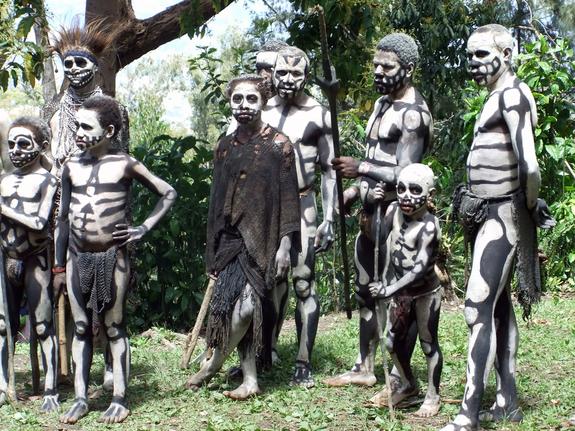 Kanibal Vampire Di Papua Nugini