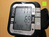 Display: smartLAB easy nG Handgelenk-Blutdruckmessgerät