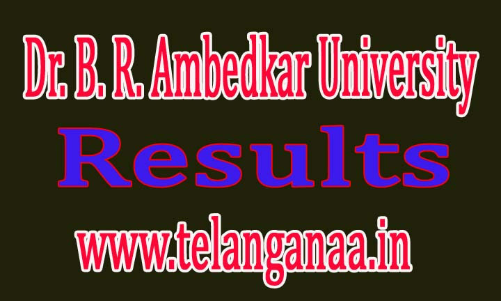 Dr. B. R. Ambedkar University (BRAU) B.Ed 1st Sem Revaluation Results 2016