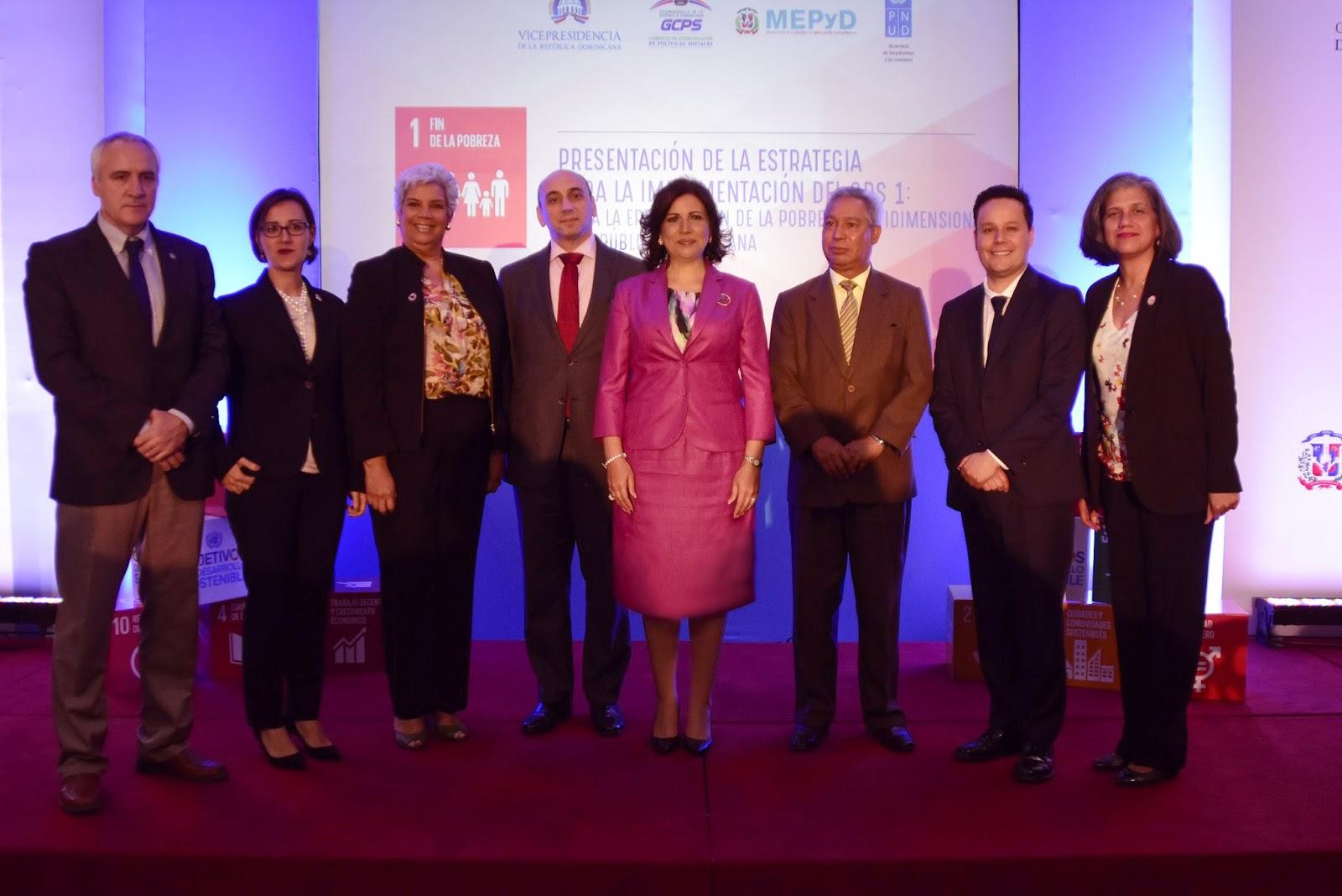 Gobierno y PNUD presentan estrategia para impulsar Desarrollo Sostenible y eliminar la pobreza