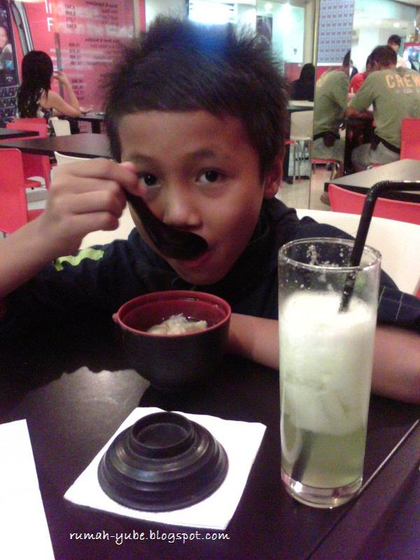 makan sup miso di shibuya resto semarang