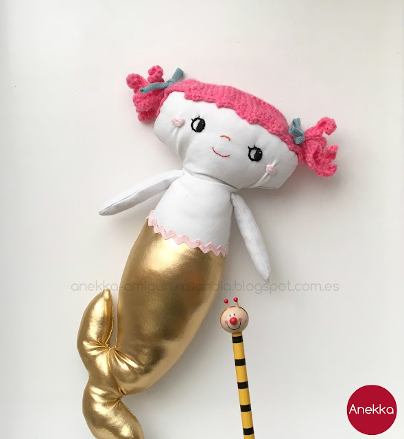 art doll anekka handmade