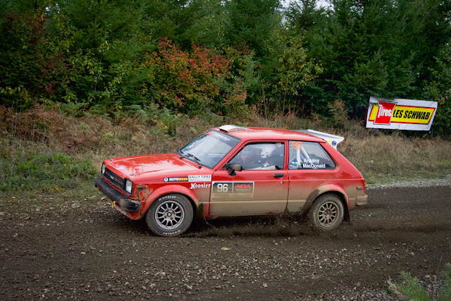 Toyota Starlet Rally Car Tour de Force