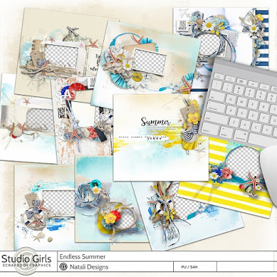 http://shop.scrapbookgraphics.com/Endless-Summer-Quick-Pages.html