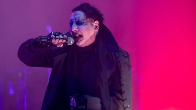 Marilyn Manson sufre accidente en un concierto en Nueva York
