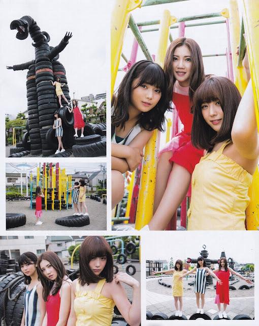 SKE48 Natsuki Kamata Ryoha Kitagawa Gravure Ruka Kitano 003
