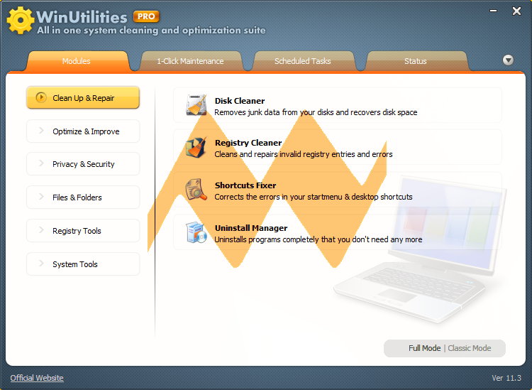 WinUtilities Pro 11.3