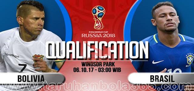 Prediksi Taruhan Bola 365 - Bolivia vs Brasil 6 Oktober 2017