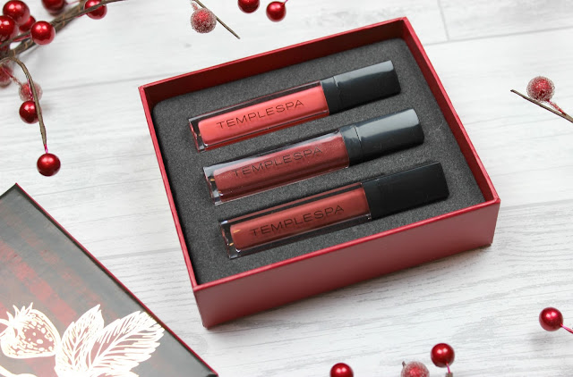 A review of Temple Spa Wonder-Full Plump & Shine Lip Trio