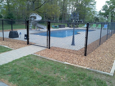 Connell Fence Company Vinyl Chain Link