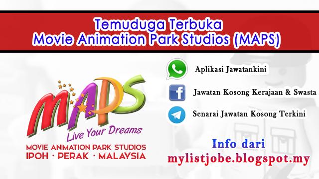 Jawatan Kosong di Movie Animation Park Studios (MAPS)