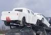 Is this Tesla Pickup truck on a car carrier?
