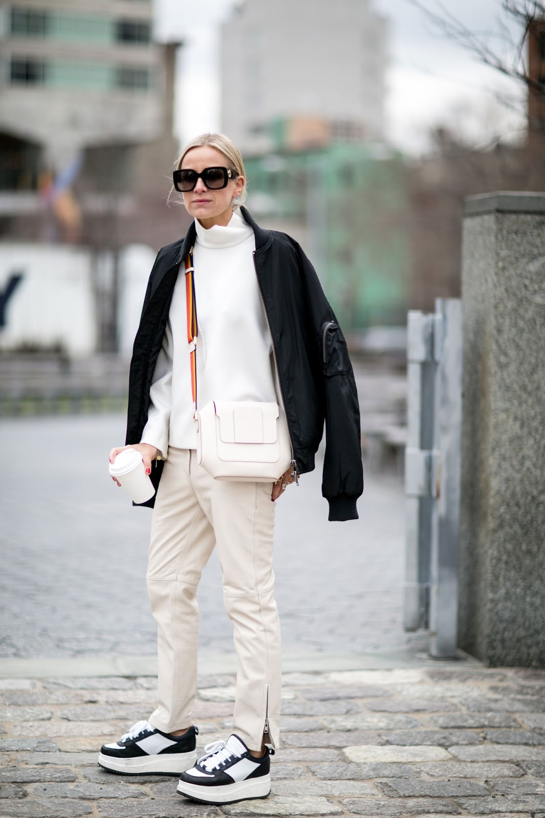 Street style inspiration celine aargaard the front row view Celine fashion street style