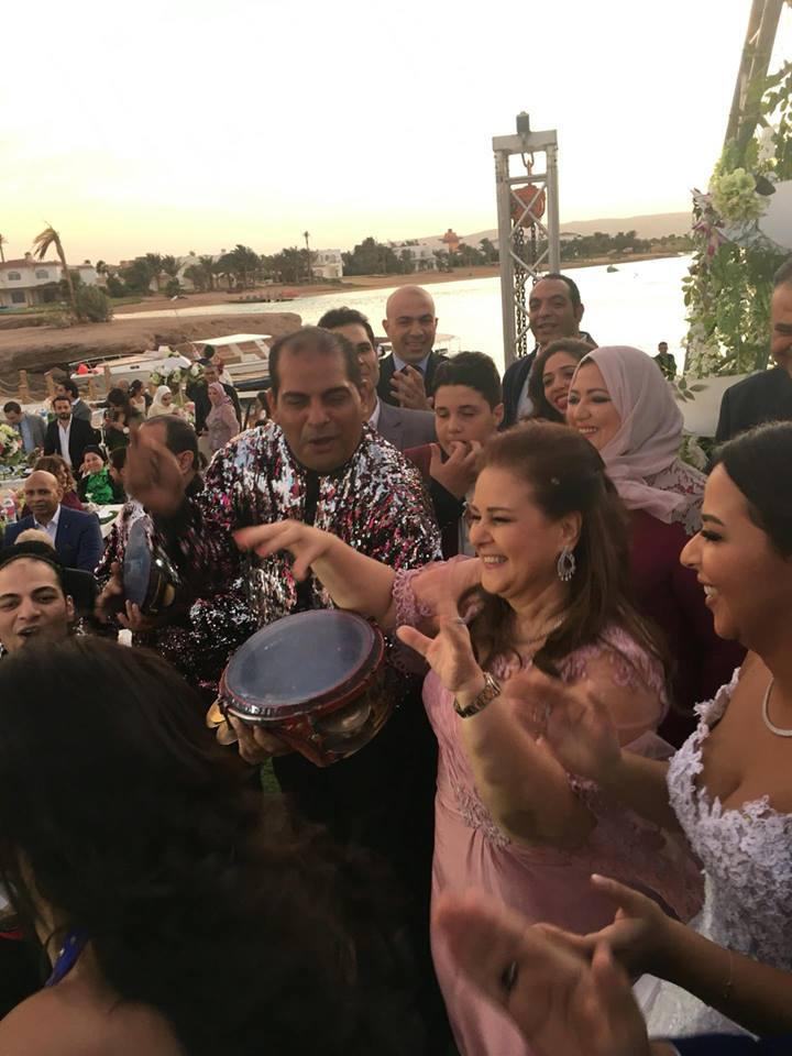 زفاف إيمي سمير غانم وحسن الرداد