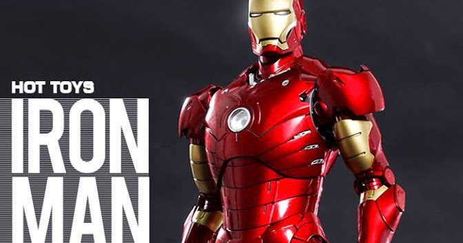 MMS Diecast - Iron Man: Mark III in 1/6 from Hot Toys