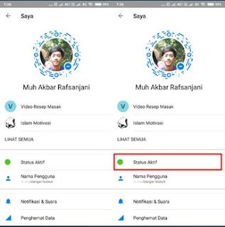 Cara Mematikan Status Online di Messenger