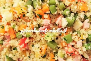 foto insalata di cous cous