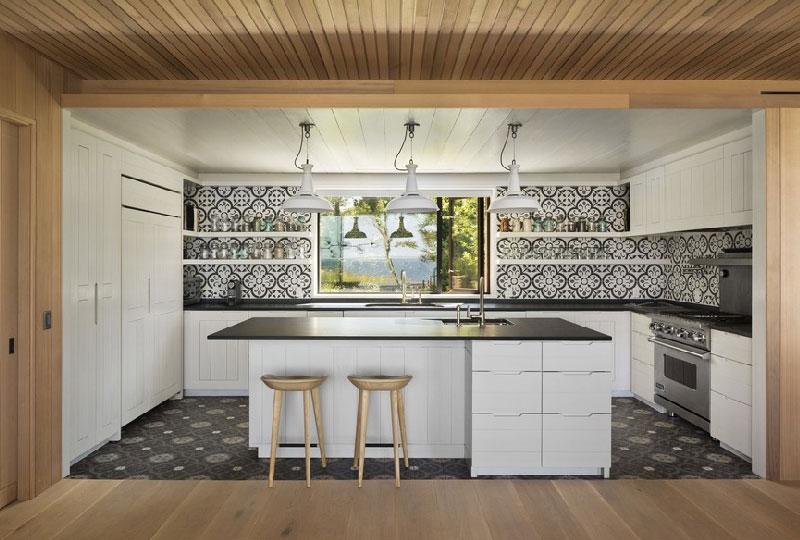 Separare visivamente la cucina dal living dettagli home for Pavimenti per cucina e soggiorno