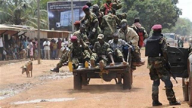 Clashes between CAR rival rebels kill 22, displace 10,000