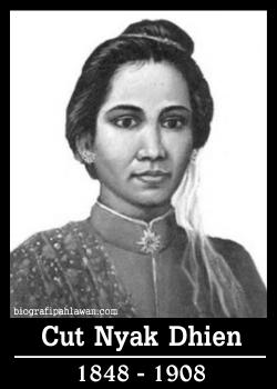 Biografi Cut Nyak Dhien Ratu Perang Dari Aceh - Tokoh Pahlawan
