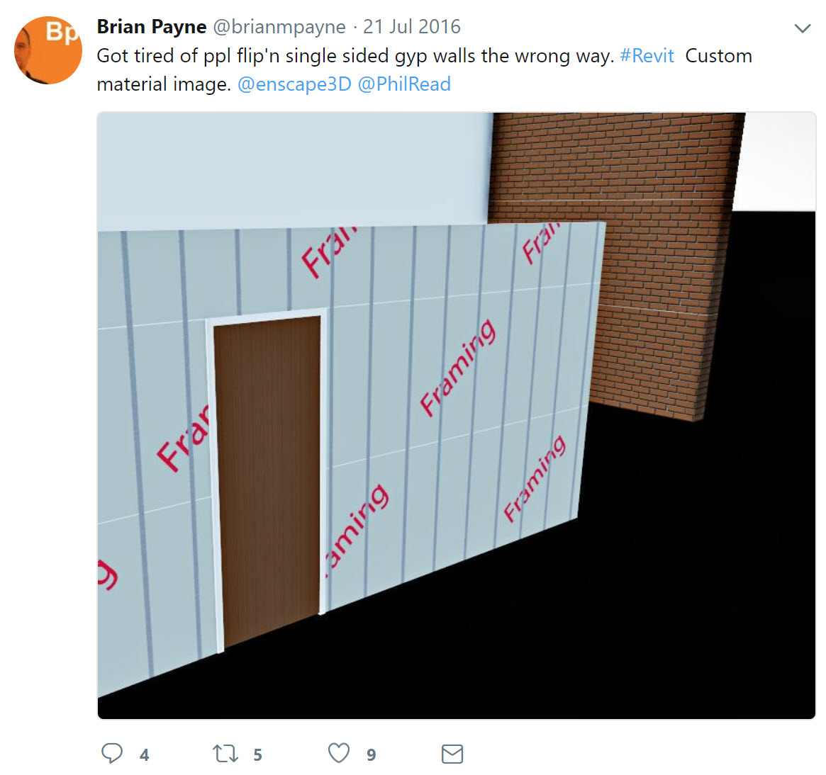BIM Chapters: Revit Wall Type Trick - Showing Studs in Walls