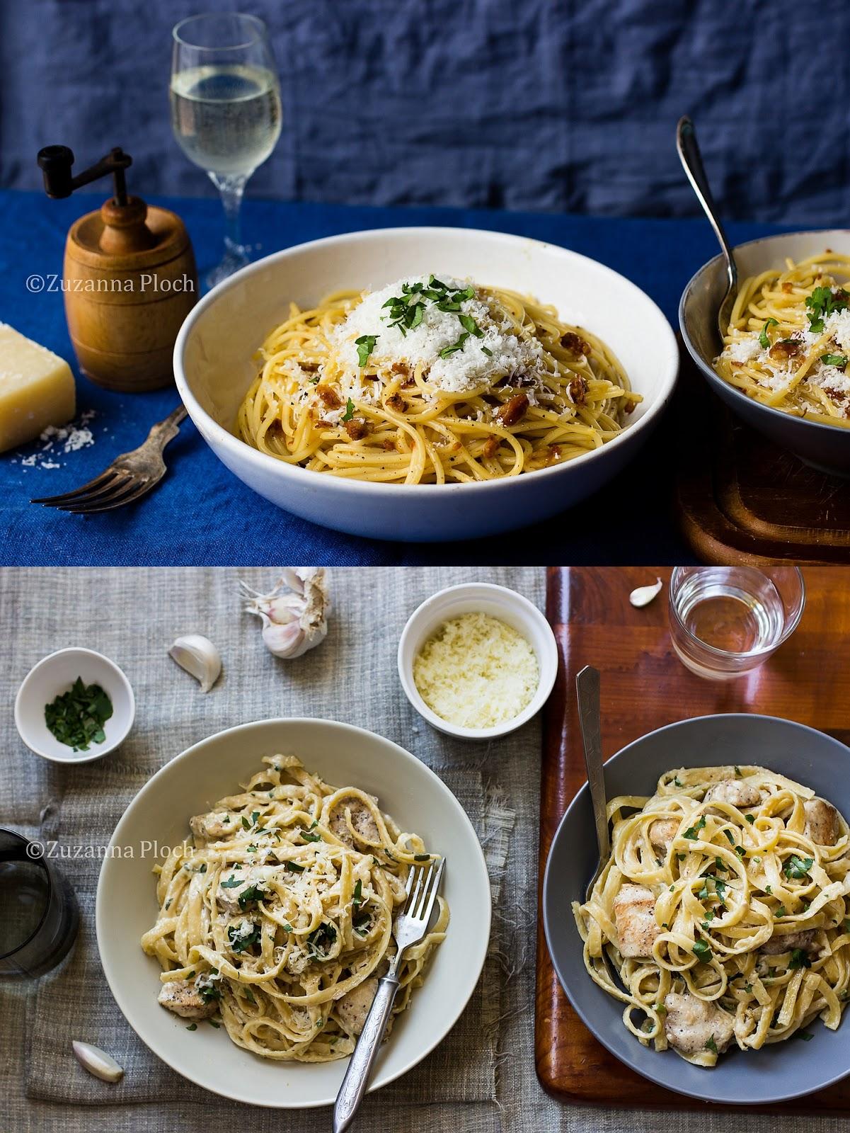 Włoskie przepisy - zdjęcia potraw i z procesu przygotowania