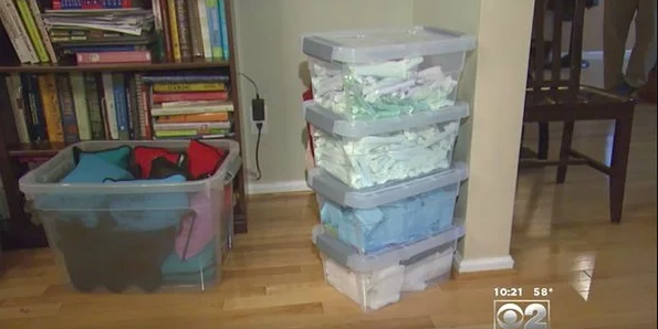 A Teenager Has Massive Stocks Of Tampons