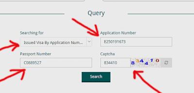 cara mengisi form mova untuk cek visa saudi arabia secara online