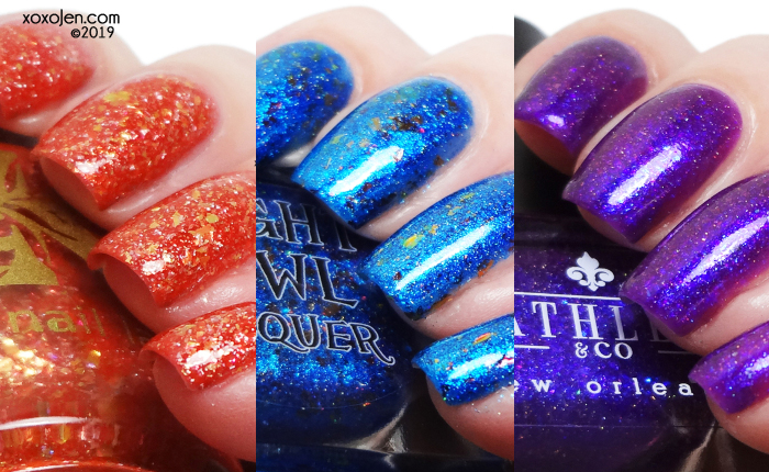 xoxoJen's swatch of Fandom Flakies: John Wick Inspired Box