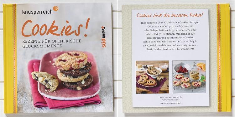 Rezension/Buchvorstellung knusperreich Cookies