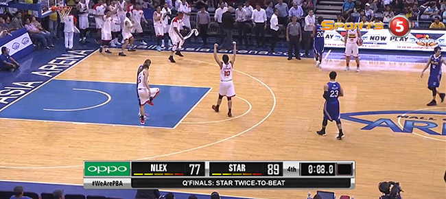 Star eliminates NLEX, 89-77 (REPLAY VIDEO) September 26 / Quarterfinals