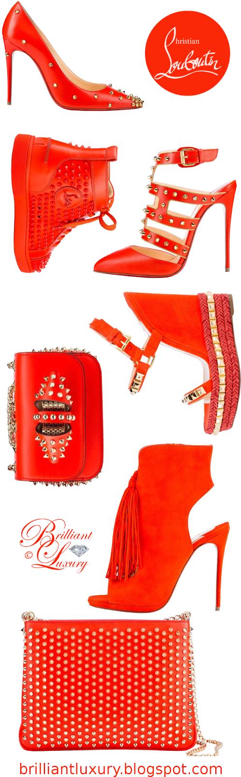 Brilliant Luxury ♦ Christian Louboutin Orange Edition