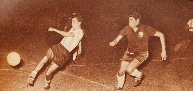 Argentina y Chile en Campeonato Sudamericano de 1959