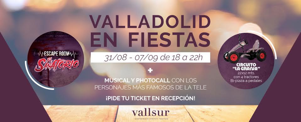 Fiestas Valladolid en Vallsur