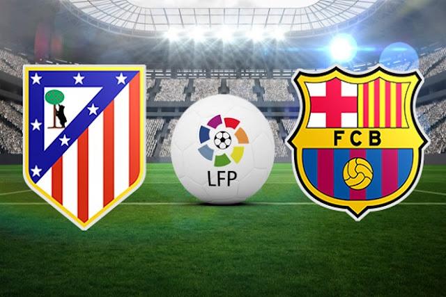 Atletico Madrid VS Barcelona Dan Jadwal La Liga Pekan Ke 13