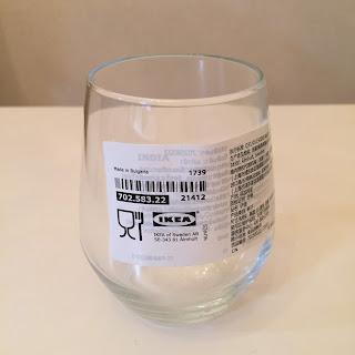 IKEA,イケア,IVRIG イーヴリック グラス