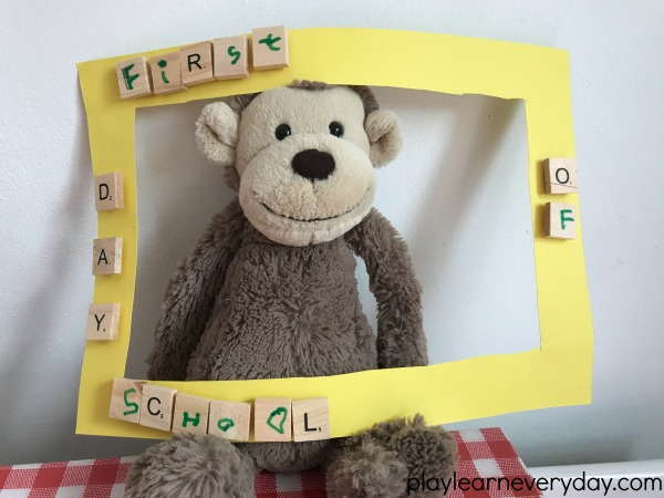 Back To School Frame Craft Play And Learn Every Day