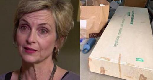 Après 30 ans, cette femme ouvre la boîte contenant sa robe de mariée. Lorsqu'elle voit ce qu'il y a à l'intérieur, elle pousse un cri de panique!