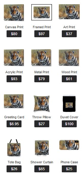 Wildlife Art Products on Fine Art America