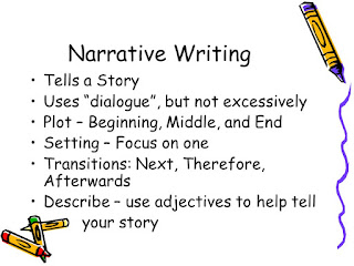 types of narrative writing styles