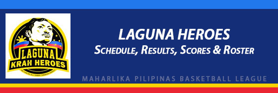 MPBL: Laguna HeroesSchedule, Results, Scores, Roster