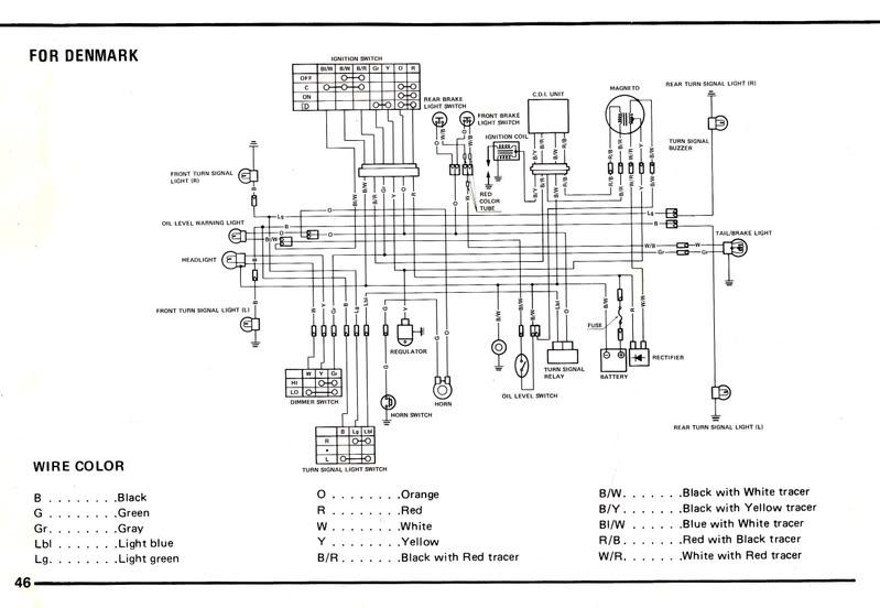 suzuki ae 50 wiring diagram