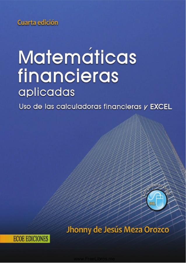 descargar libro matematica financiera