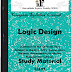 Engineering Logic Design (DLD / STLD) Study Materials cum Notes PDF E-Books Free Download